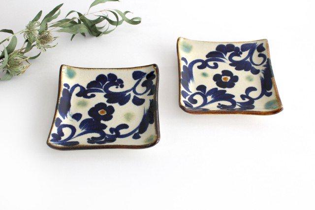 デザートプレート 唐草紋 陶器 エドメ陶房 やちむん 画像6