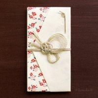 可愛らしい 「花小紋」 祝儀袋 花つばき