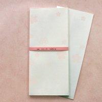 上品な 桜の 封筒  「みよしの」