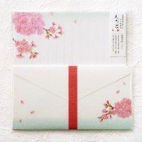 春の季節のレターセット 「旬花」 桜