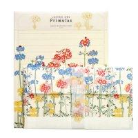 プリムラの 花のレターセット