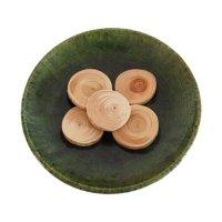ヒノキのアロマチップ 小枝 (5個入) 手芸パーツに