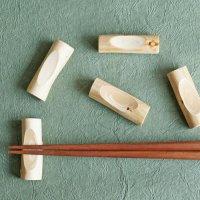 ヒノキの小枝 箸置き 5個入