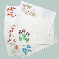 季節の敷紙 印刷できる 雲流和紙 A4 10枚入 案内状にも