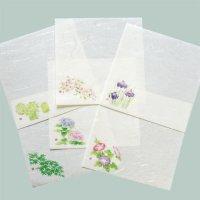 季節の敷紙 雲竜和紙 4寸 12cm 春夏柄 10枚入