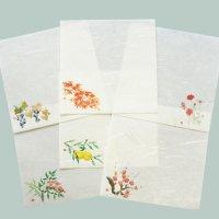 季節の敷紙 雲流和紙 12cm 秋冬柄 10枚入