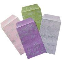 日本の色と「花小紋」の柄が素敵な ポチ袋