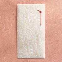 越前和紙 上品な 「きらら花梅」  のし袋 (飾りのし付)