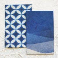 美濃和紙 藍色が素敵な ぽち袋 2