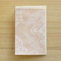 京からかみ 伝統文様のカード 「藤伏蝶」