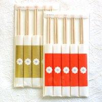 国産桧のお箸  「いちりん」 箸包みセット