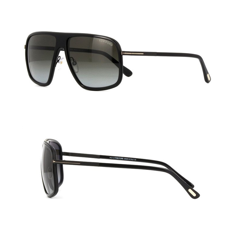 トムフォード TOM FORD Quentin TF0463 01B