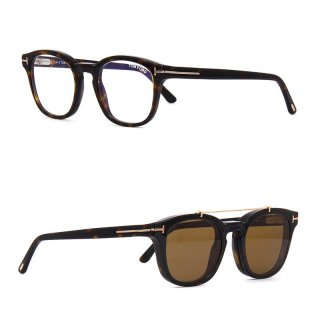 トムフォード TOM FORD TF5532-B(FT5532-B) 52E Blue Control with Clip On