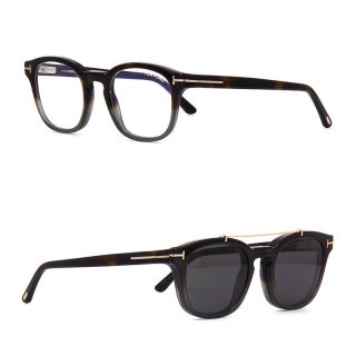 トムフォード TOM FORD TF5532-B(FT5532-B) 55A Blue Control with Clip On
