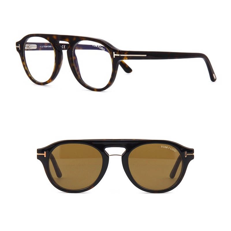 b1ee36ef06 トムフォード TOM FORD TF5533-B(FT5533-B) 52E Blue Control with Clip ...
