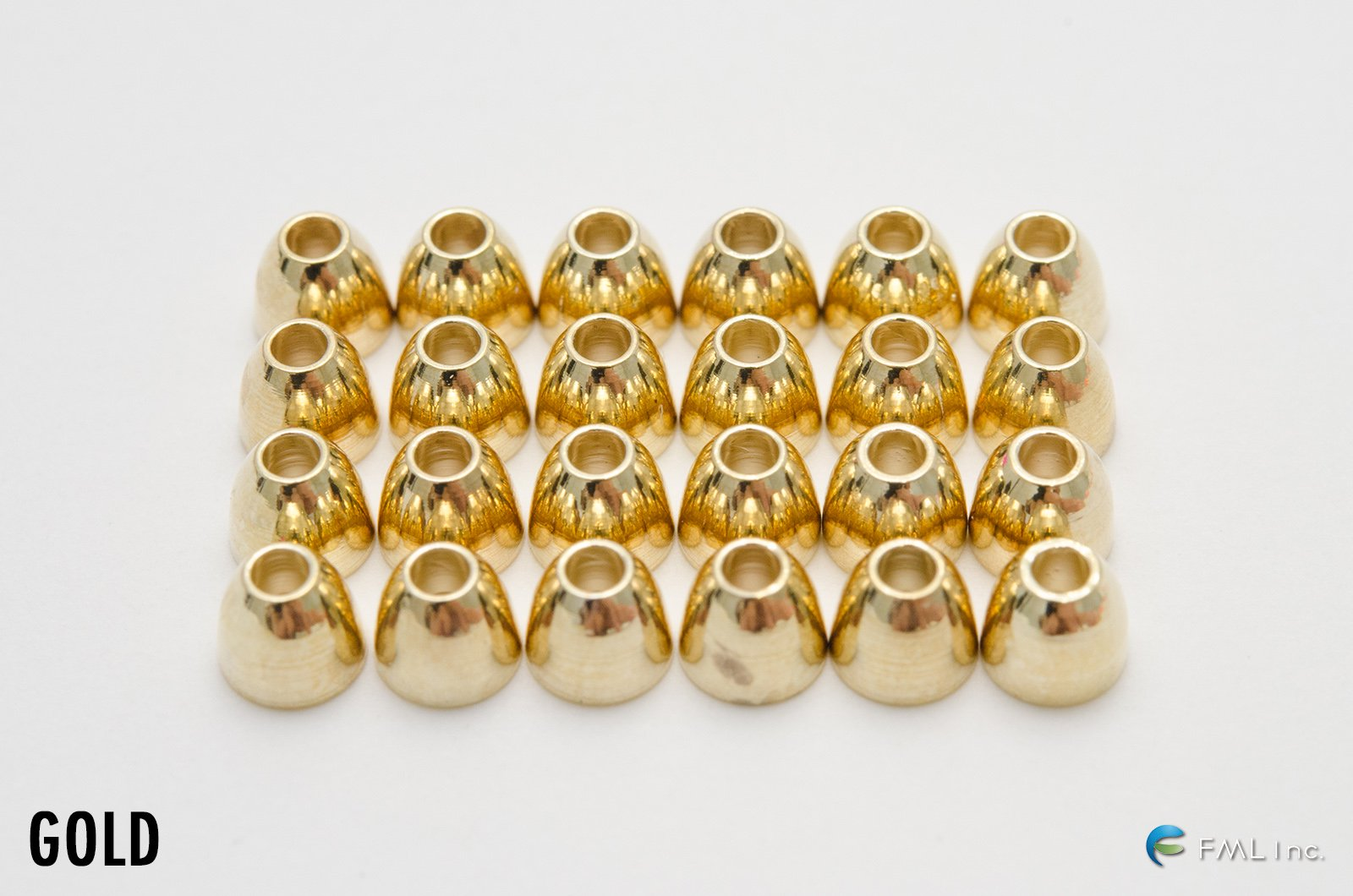 <img class='new_mark_img1' src='//img.shop-pro.jp/img/new/icons57.gif' style='border:none;display:inline;margin:0px;padding:0px;width:auto;' />HARELINE DUBBIN Brass Cone Heads - Medium / Large (CH)