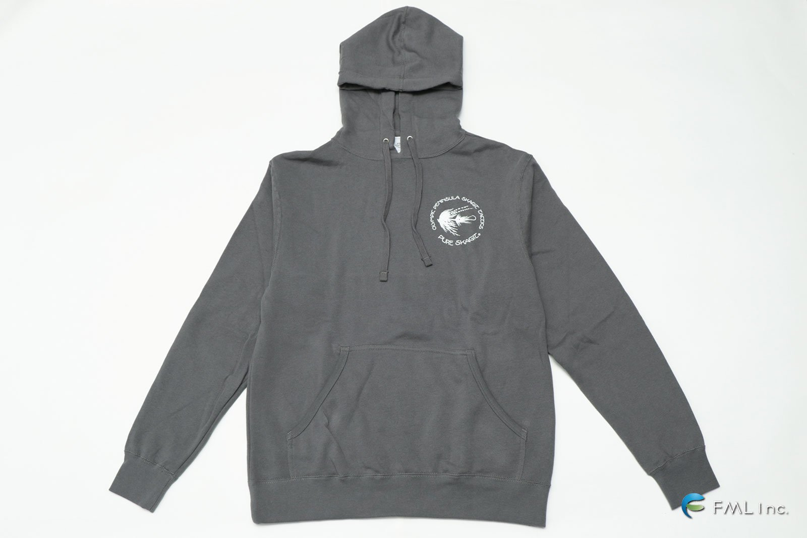 <img class='new_mark_img1' src='https://img.shop-pro.jp/img/new/icons5.gif' style='border:none;display:inline;margin:0px;padding:0px;width:auto;' />OPST Lightweight Hooded Pullover Sweatshirt CHARCOAL-SOLID (HO)