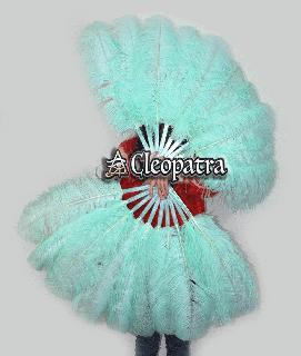 ベリーダンス衣装★フェザーファン 羽 扇子 舞台 ショーダンス バーレスク グッズ 安い ショップ 40