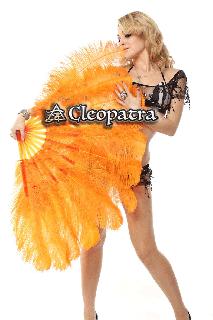 ベリーダンス衣装★フェザーファン ステージ バーレスク ショーダンス 舞台 グッズ 格安 店舗 40