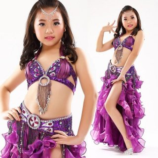 ベリーダンス衣装 ■子供 キッズ ステージ 舞台 ドレス グッズ 激安 通販 12