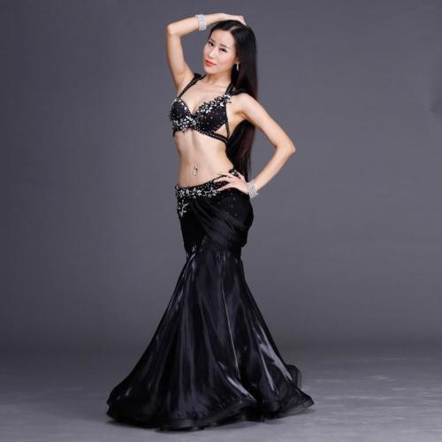 ベリーダンス衣装■コスチューム オリエンタル 黒 白 グッズ 激安 販売■48