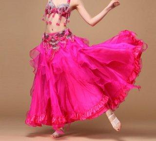ベリーダンス衣装★スカートコスチューム服ドレスヒラヒラ可愛いスリットグッズ安い通販 17