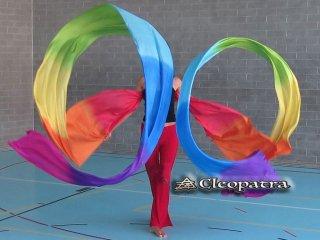 ダンスリボンステージ道具にベリーダンス新体操などのグッズ安い通販 1