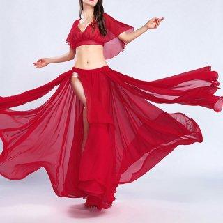 ベリーダンス衣装★ドレススカートドレスカーニバルスリットグッズ安い通販 18