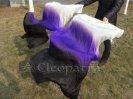 ベリーダンスファンベール白紫黒扇子舞台ステージグッズ安い激安 80