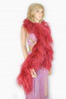 毛製の襟巻ベリーダンスダチョウの羽ブルゴーニュショーダンス道具グッズ格安ショップ 5