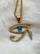 ホルスの目古代エジプトのシンボルネックレスお守り男女兼用グッズ販売ショップ