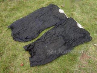 ベリーダンス▲衣装 道具 ファンベール 扇子 シルク素材 2本セット 格安 店舗 7