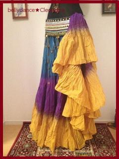 ベリーダンス衣装●コスチューム 25ヤード スカート ジプシー コットン 通信販売 4