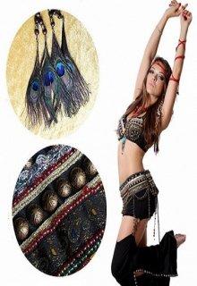ベリーダンス衣装■トライバル ブラ ベルト セット コスチューム グッズ 新品 通販 5