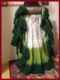インド限定■ベリーダンス衣装 25ヤード スカート 画像 ジプシー コスチューム 格安 販売 10