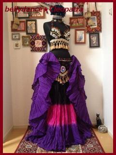 インド限定▼25ヤード スカート 画像 ジプシー コスチューム ベリーダンス衣装 格安 店舗 11