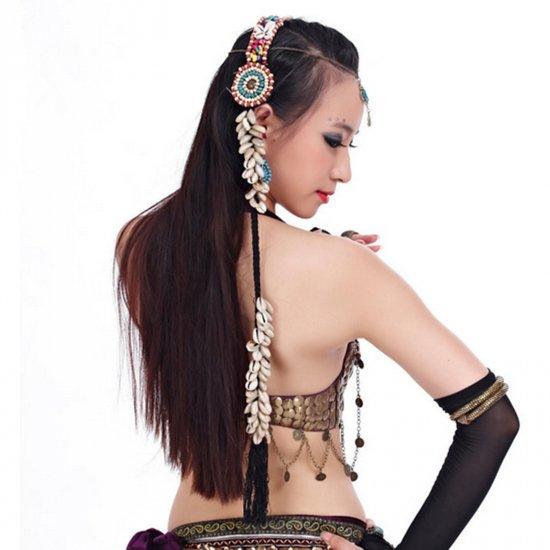 ベリーダンス★ヘアバンド 髪飾り ヘッドドレス アクセサリー トライバル グッズ 格安店 1