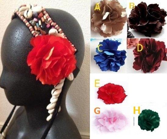 ベリーダンス衣装★コサージュ 結婚式 髪飾り 花 フォーマル パーティー グッズ 格安店 2