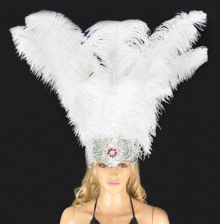 ベリーダンス衣装★羽 髪飾り サンバ 舞台 アクセサリー トライバル グッズ 格安 販売 3
