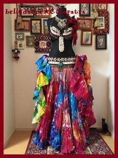 ベリーダンス▼25ヤードスカート 衣装 ジプシー コスチューム トライバル 販売 ショップ 20