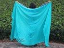 ベリーダンス■ベール シルク100% 衣装 ブルー 5mm  道具 グッズ 安い ショップ 16