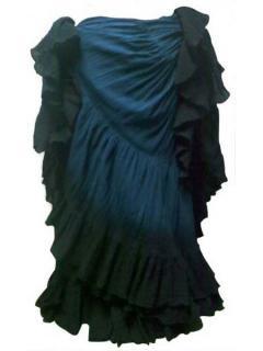 ベリーダンス▼35ヤードスカート ジプシー コスチューム  民族 衣装 トライバル 安い 販売 19