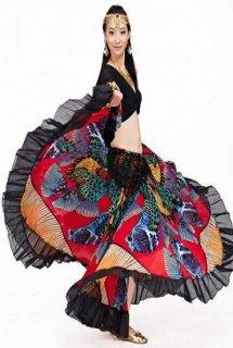 ベリーダンス衣装■ジプシー スカート コスチューム 服 販売 ショップ 4