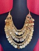 インド限定▲ベリーダンス アクセサリー ネックレス KUCHI  衣装 民族 トライバル グッズ ストア 13