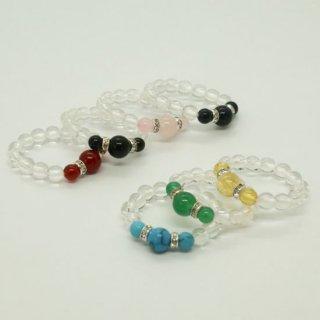 7色から選べる ゆびわ念珠