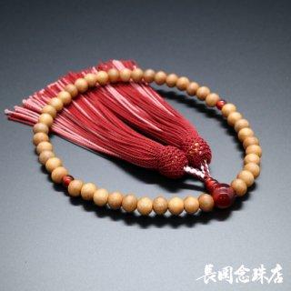 北海道産木材 エゾヤマザクラ 本メノウ 正絹頭房(二色)
