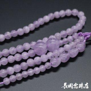 双輪念珠の材料 藤雲石 八寸振分