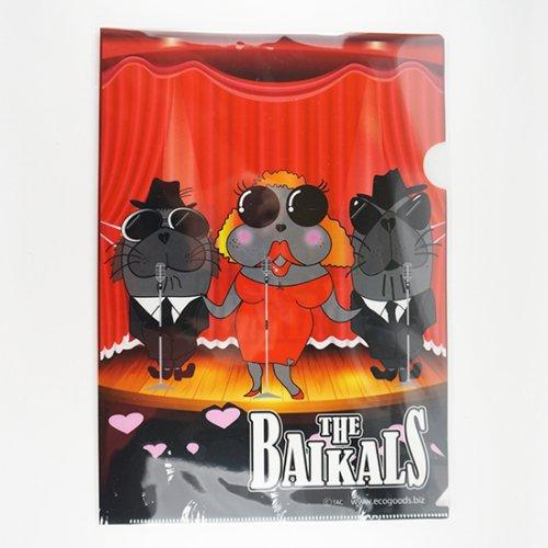 琵琶湖博物館 ミュージアムショップ バイカルアザラシグッズ THE BAIKALS クリアファイル