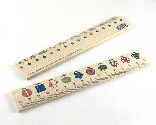 木製160mm平板定規