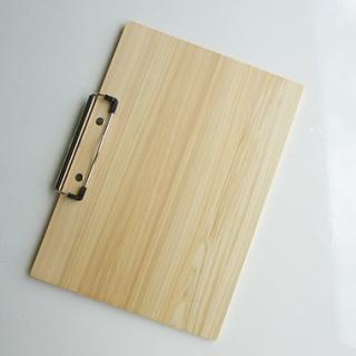 滋賀県産間伐材を使った木製クリップボード・バインダー(A4無地)